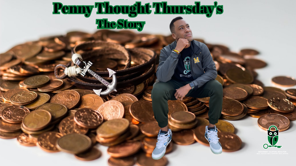 Penny Thought Thursday's, Penny for your Thoughts,